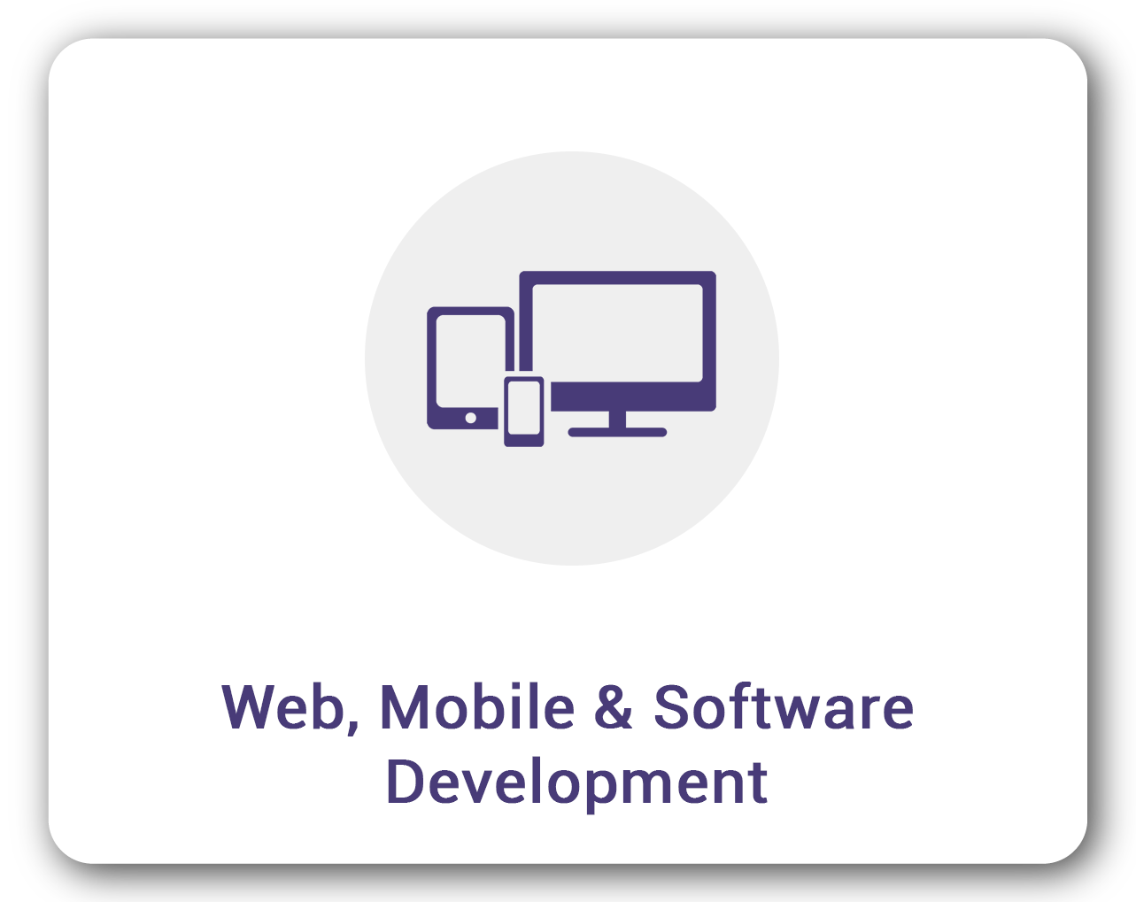 Web, Mobile & Software Development